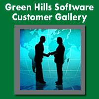 Green Hlls Software customers, RTOS, INTEGRITY, embedded RTOS