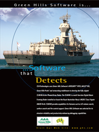 CEA Technologies, Royal Australian Navy, radar, RTOS, INTEGRITY