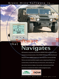 KVH Industries-Mobility Enhanced Navigation, Level A Certified RTOS, Certified POSIX IEEE 1003.13, MILS, EAL 6+ Safety Critical software