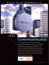 Nera Wireless Networking, Embedded Wireless and Networking Platform, Routing, SCA, Secure communication, GATED, IPv4, IPv6, IEC 61508, FDA class2, SCA,802.11