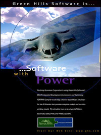 Northrop Grumman - B-2 Bomber, MILS, RTOS, Secure Systems, Small Footprint, VT Technology, Embedded Development Tools, Hypervisor, EAL 6+ Safety Critical, Toolchain